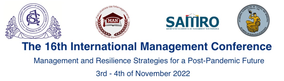 The 13th International Management Conference – IMC 2019 » Management